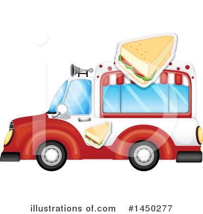 Food Truck Clipart #1450277 by Graphics RF