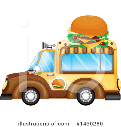 Food Truck Clipart #1450280 by Graphics RF