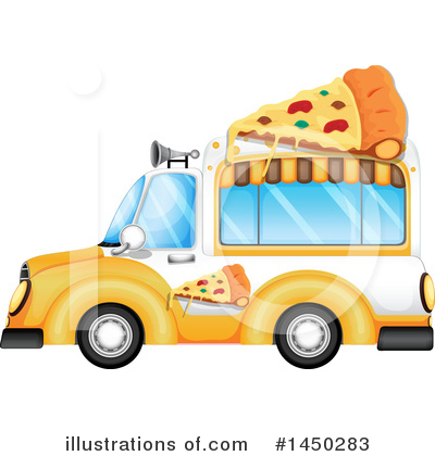 Food Truck Clipart #1450283 by Graphics RF