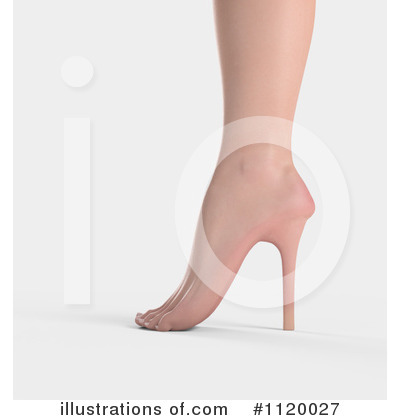 Foot Clipart #1120027 by Mopic