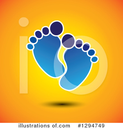 Feet Clipart #1294749 by ColorMagic