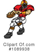 Football Clipart #1089938 by Chromaco
