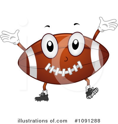 Football Clipart #1091288 by BNP Design Studio
