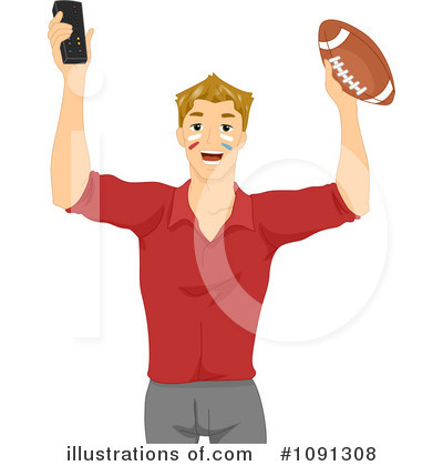 Football Clipart #1091308 by BNP Design Studio
