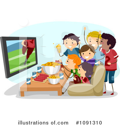 Tv Clipart #1091310 by BNP Design Studio