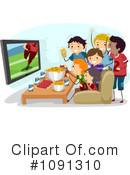 Football Clipart #1091310 by BNP Design Studio