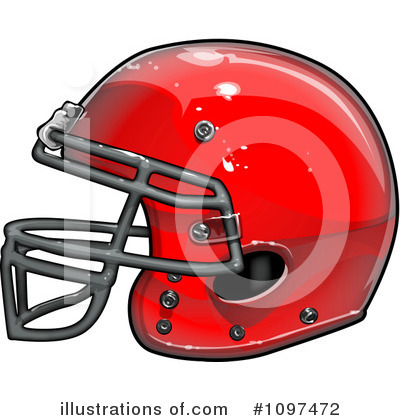 American Football Clipart #1097472 by Chromaco