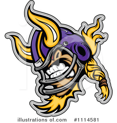 Football Clipart #1114581 by Chromaco