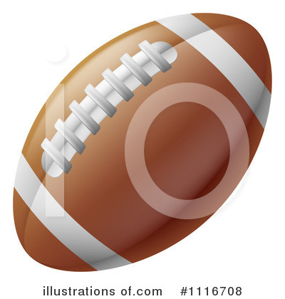 American Football Clipart #1116708 by AtStockIllustration