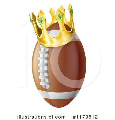 American Football Clipart #1179812 by AtStockIllustration