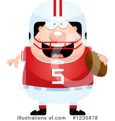 Football Clipart #1235878 by Cory Thoman