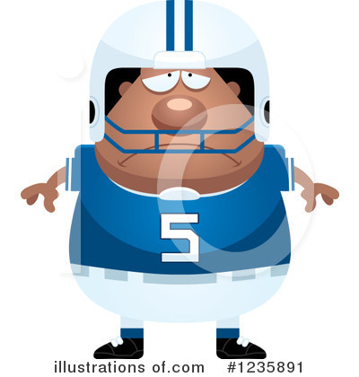 Football Clipart #1235891 by Cory Thoman