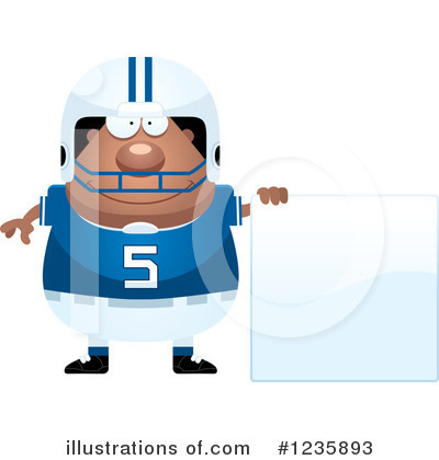 Football Clipart #1235893 by Cory Thoman