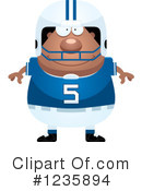 Football Clipart #1235894 by Cory Thoman