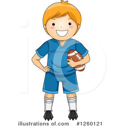Football Clipart #1260121 by BNP Design Studio