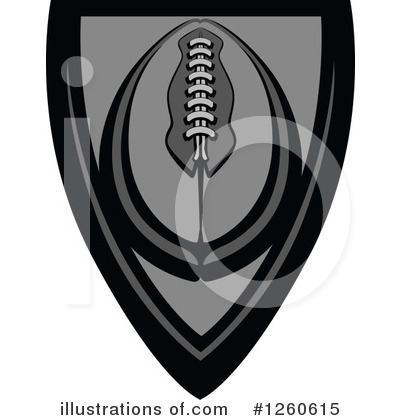 Football Clipart #1260615 by Chromaco