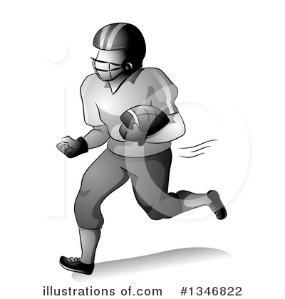 Football Clipart #1346822 by BNP Design Studio