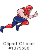 Football Clipart #1379638 by patrimonio