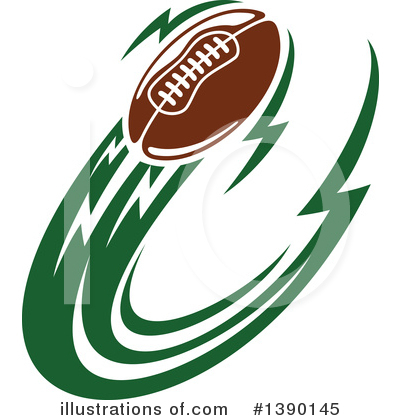 Football Clipart #1390145 by Vector Tradition SM