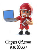 Football Clipart #1680337 by Steve Young