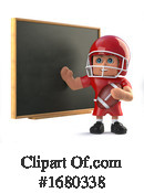 Football Clipart #1680338 by Steve Young
