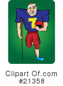 Football Clipart #21358 by Paulo Resende