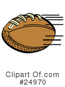 Football Clipart #24970 by Andy Nortnik