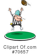 Football Clipart #70657 by jtoons