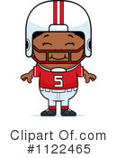 Football Player Clipart #1122465 by Cory Thoman