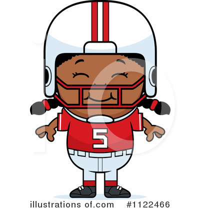 Football Clipart #1122466 by Cory Thoman