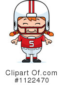Football Player Clipart #1122470 by Cory Thoman