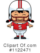 Football Player Clipart #1122471 by Cory Thoman