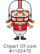 Football Player Clipart #1122472 by Cory Thoman