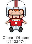Football Player Clipart #1122474 by Cory Thoman
