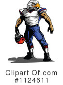 Football Player Clipart #1124611