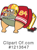 Football Player Clipart #1213647