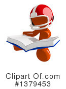 Football Player Clipart #1379453 by Leo Blanchette
