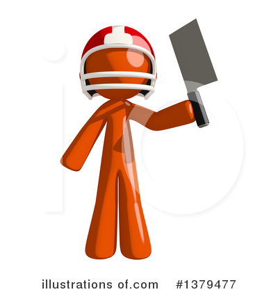 Football Player Clipart #1379477 by Leo Blanchette