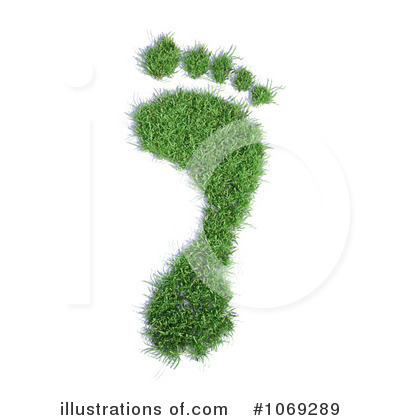 Footprint Clipart #1069289 by Mopic