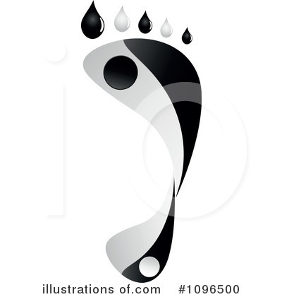 Royalty-Free (RF) Footprint Clipart Illustration by Andrei Marincas - Stock Sample #1096500