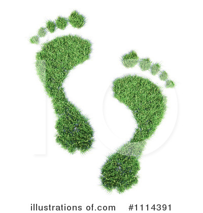 Footprint Clipart #1114391 by Mopic
