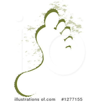 Royalty-Free (RF) Footprint Clipart Illustration by Lal Perera - Stock Sample #1277155