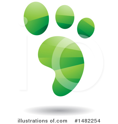 Footprint Clipart #1482254 by cidepix