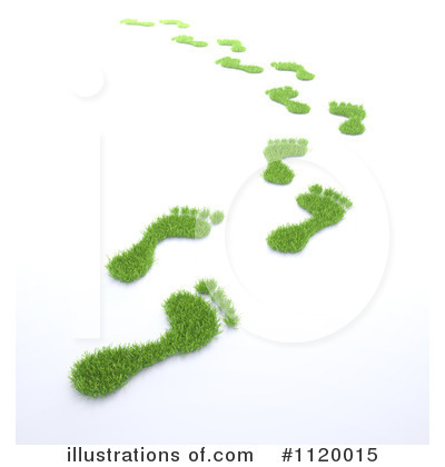 Footprint Clipart #1120015 by Mopic