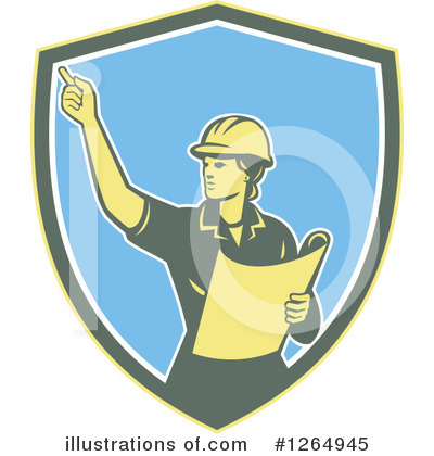 Construction Clipart #1264945 by patrimonio