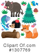 Forest Animals Clipart #1307769