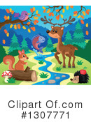Forest Animals Clipart #1307771