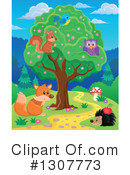 Forest Animals Clipart #1307773