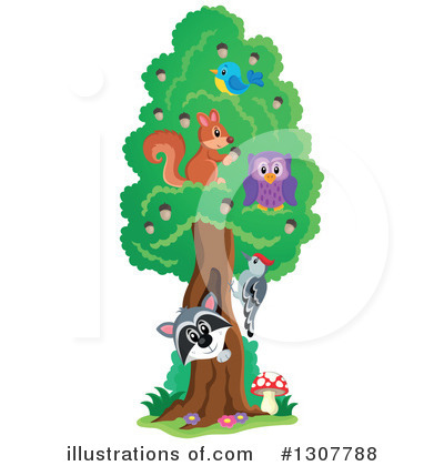 Tree Clipart #1307788 by visekart