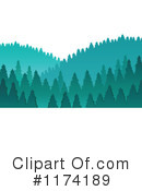 Royalty-Free (RF) Forest Clipart Illustration #1174189